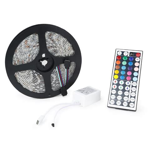 Remote Led Light Strips 5m 5050 Smd Led Light With Remote Wyz Works