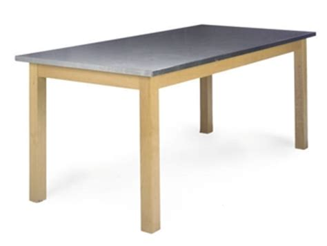 Beech Kitchen Table An Italian Beech And Stainless Steel Kitchen Table Of Recent Manufacture Interiors Auction