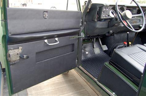 land rover series 3 interior door interior trim set iia iii rh lh blk rna4600 rovers