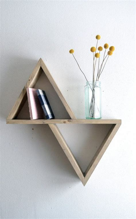 Triangle Book Shelf by Bookalicious