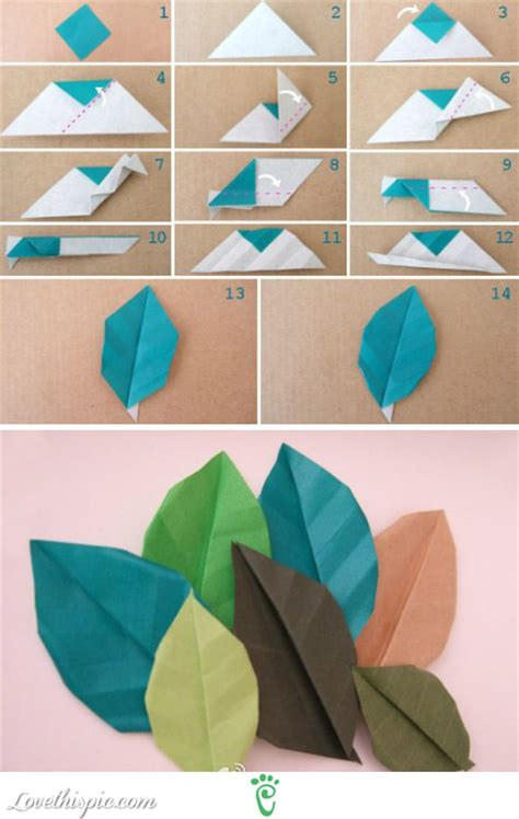 How To Make Fall Leaves Out Of Paper - diy leaves pictures photos and images for