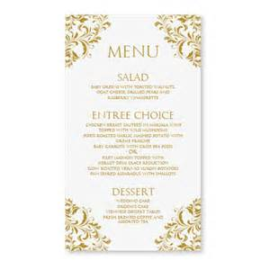 menu card template free wedding menu card template by diyweddingtemplates