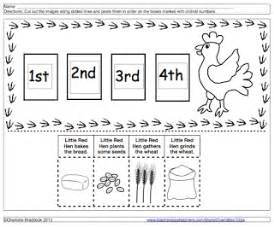 search results for sequencing the little red hen
