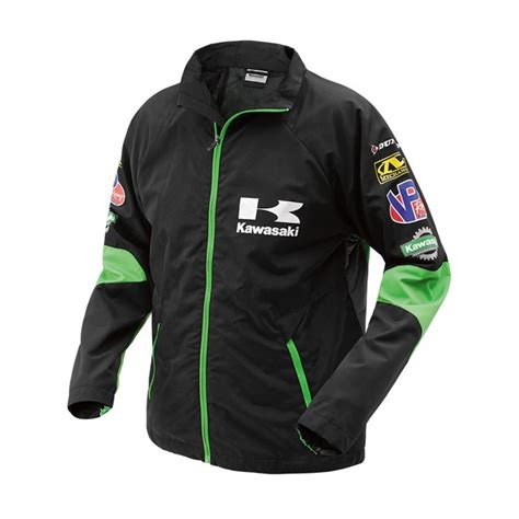 kawasaki jacket race windbreaker genuinekawasakiparts com