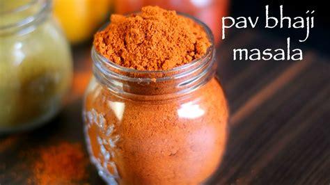 pav bhaji masala recipe pav bhaji masala recipe pav bhaji masala powder