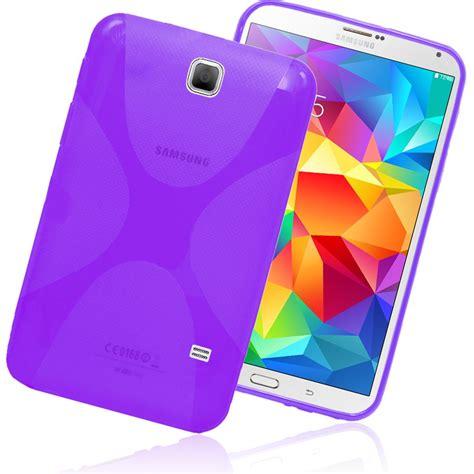 Cover Samsung Galaxy Tab 4 x line clear tpu gel back cover for samsung galaxy tab 4 7 0 quot t230 t231 ebay