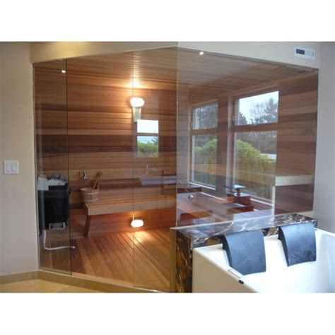 Custom Sauna Door With Glass Walls Glass Sauna Door