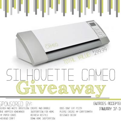 Silhouette Cameo Giveaway - vinyl archives refresh restyle