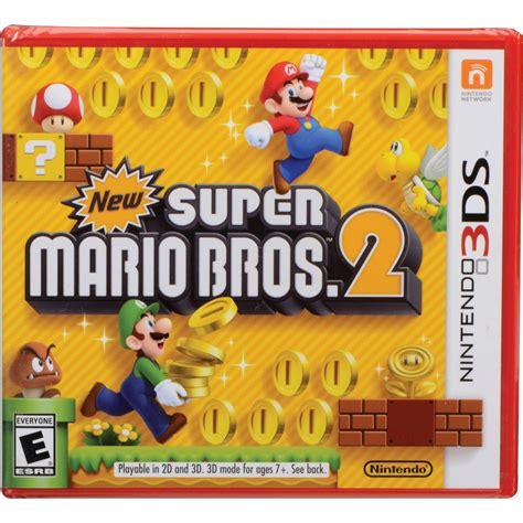 3ds Mario Reg 3 nintendo new mario bros 2 nintendo 3ds ctrpabee b h