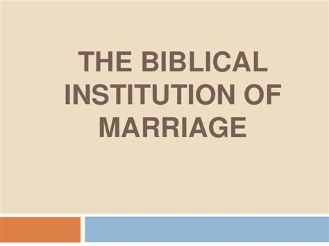 The institution of marriage pdf free