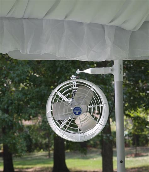 best fan for tent cing clear top tent sailcloth tent rentals goodwin events
