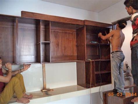 Kitchen Set Minimalis Jati Bojonegoro proses instalasi furniture