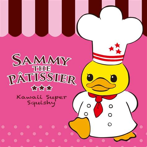 cafe de n squishy tag all about sammy the patissier squishies plus exclusive