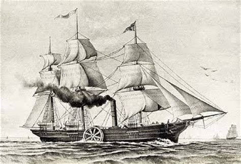 barco de vapor 1787 john fitch nos disparan desde el canario