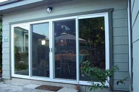 andersen 37 x 80 sliding patio door screen 4 panel sliding glass door closed yelp a frame ideas