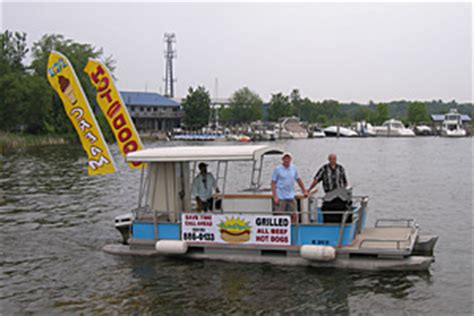 public boat launch near destin fl holland friends launch floating hot dog stand on lake macatawa