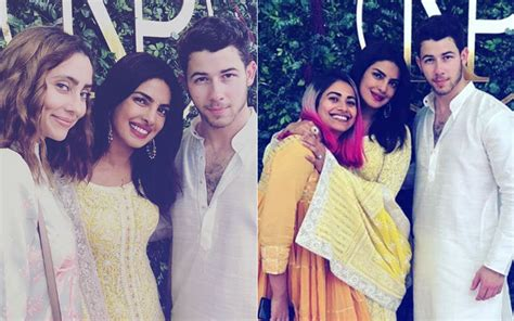 priyanka chopra and nick engagement pictures priyanka chopra nick jonas engagement inside pics and
