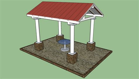 pavilion designs and plans gazebo designs howtospecialist how to build step by