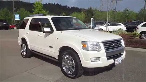 2008 Ford Explorer by 2008 Ford Explorer White Sand Met Stock 15 1674a
