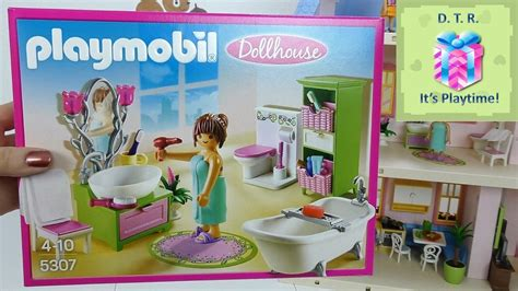 toy story 3 bathroom playmobil 5307 bathroom for romantic dollhouse little