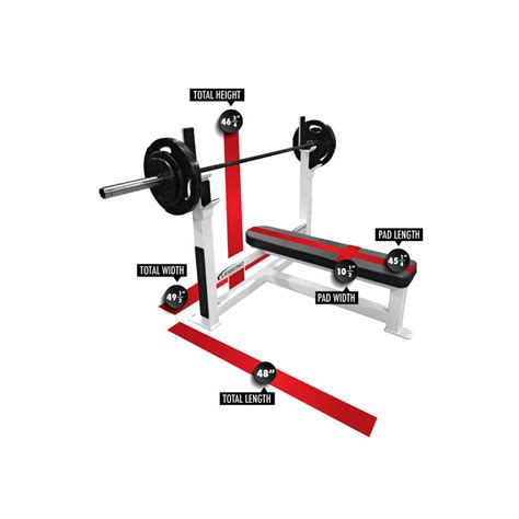 flat weights bench legend fitness flat olympic weight bench 3105