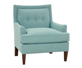 Accent Furniture Whitley Quot Designer Style Quot Hers And His Fabric Accent Chairs