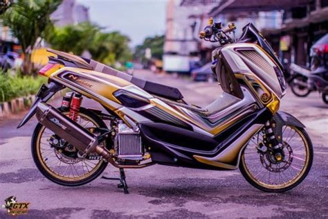 Probolt Gold Yamaha Nmax trend modifikasi yamaha nmax thailook style dmonel