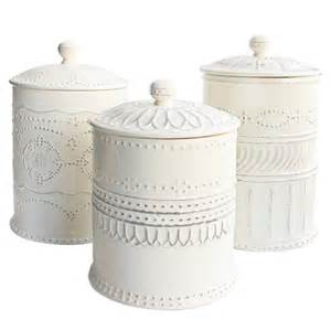 White Kitchen Canister Sets White Kitchen Canisters Kitchens Jars My