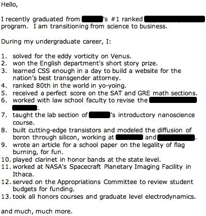 funny cover letter redstarresume blog