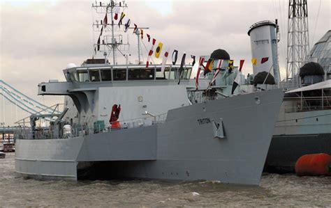 qinetiq trimaran rv triton trimaran warship demonstrator 2000 2005 ex