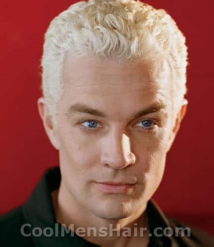 bleach spiked blond hair and hes a singer james marsters bleached blonde hairstyles cool men s hair