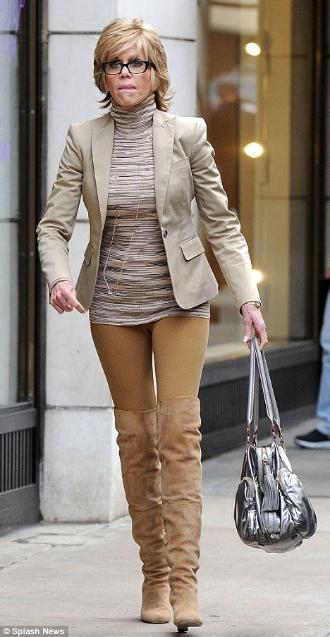 7 Reasons Fonda Looks At 73 by Fonda 73 Shows Time Defying Figure As She