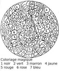 Coloriage Magique Noel L L L