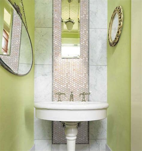 mirrored bathroom wall tiles mother of pearl tiles penny round bathroom wall mirror tile