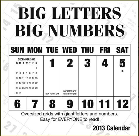 printable calendar big search results for free large printable calendar