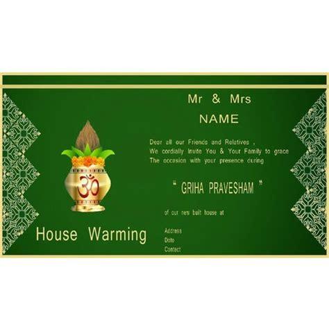 housewarming invitation india housewarming invitation india life style by modernstork com
