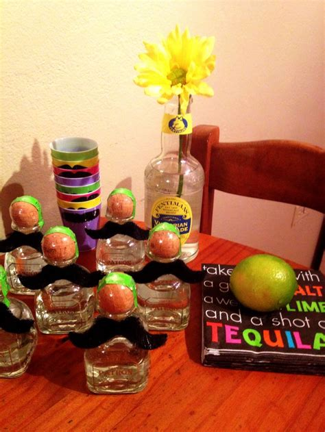 birthday tequila mexican party tequila party favors party theme tequila