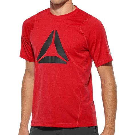 Fitness Shirts Reebok Fitness Delta 1 Sleeve T Shirt Sportsshoes