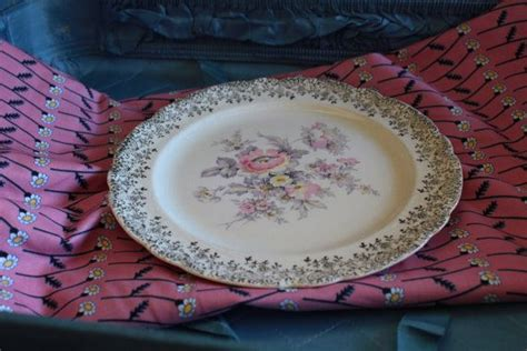 pin by bernice wheelock on golden colorado pinterest 1940 s french saxon china co 22k gold floral plate