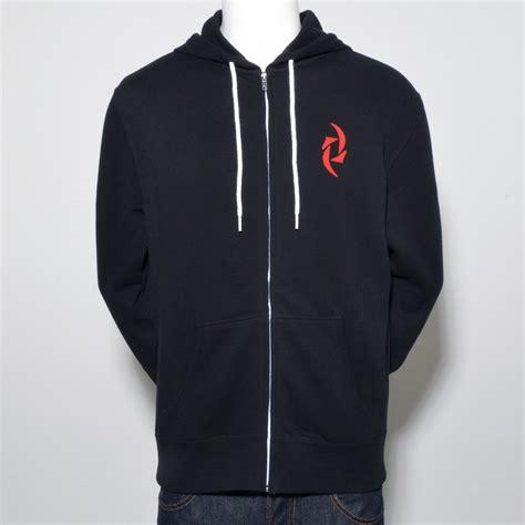 Hoodie Zipper Trivium Hitam slim fit zip hoodie black tour exclusive maniacs store