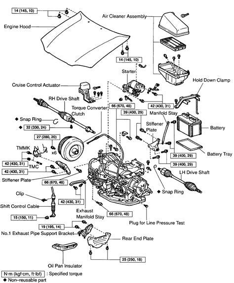 car engine manuals 2012 toyota avalon parking system diagram 2003 toyota camry engine diagram