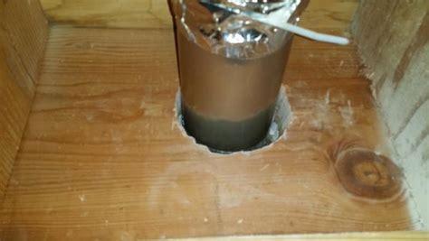 insulated bathroom fan duct insulating bathroom exhaust fan duct doityourself com