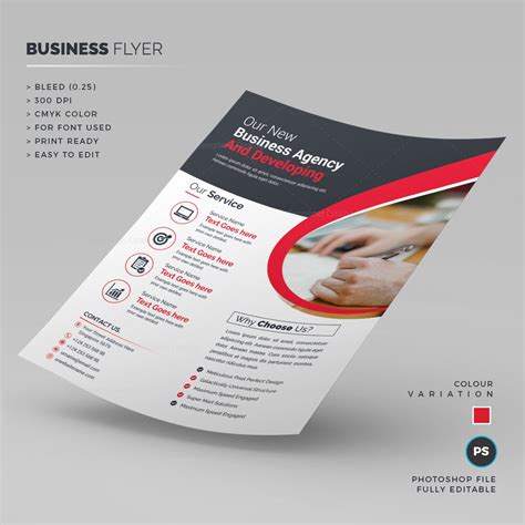 clean corporate flyer template 000246 template catalog