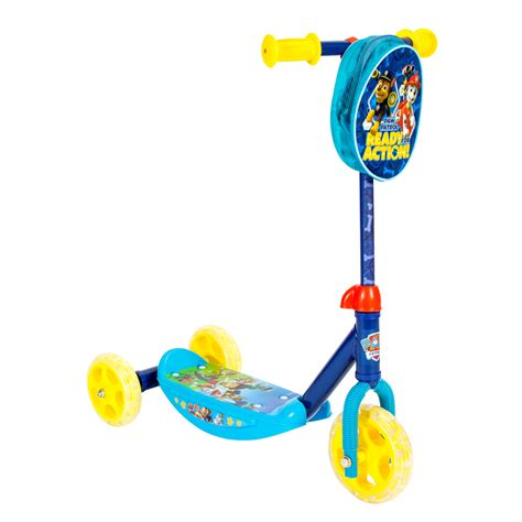 paw patrol light up scooter bravo sports 3 wheel scooter nickelodeon paw patrol