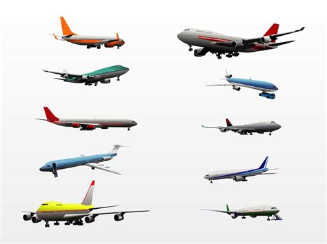 pictures of planes airplanes vector art graphics freevector com