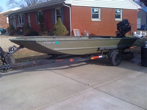 duck boat modifications 2008 1648 grizzly tracker duck boat with no motor 2 000
