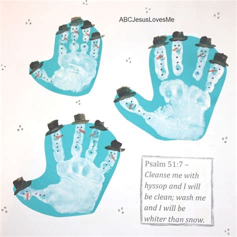 calendars for children to make handprint footprint calendar abc jesus me