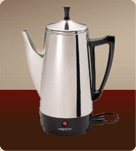 presto 174 02811 coffeemaker presto 02811 12 cup stainless steel coffee percolator