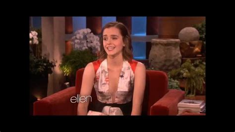emma watson youtube emma watson on the ellen degeneres show 2012 youtube