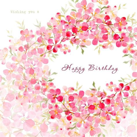 pretty birthday images pretty blossom design by nelson http www